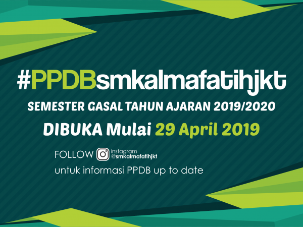PPDB SMK Al Mafatih 2019/2020